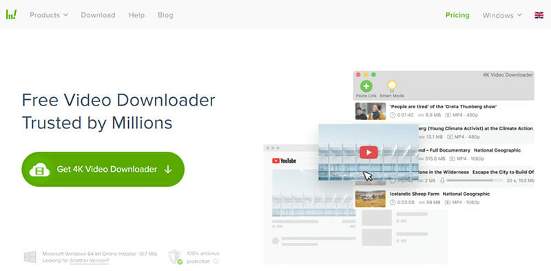 4K Video Downloader is the Best overall Youtube MP3 converter