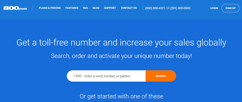 800.com is the Best Instant Service Toll Free Number Solution