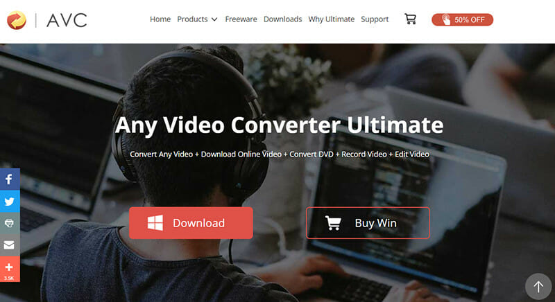 Any Video Converter is the Best Youtube MP3 converter for multiple input and output formats