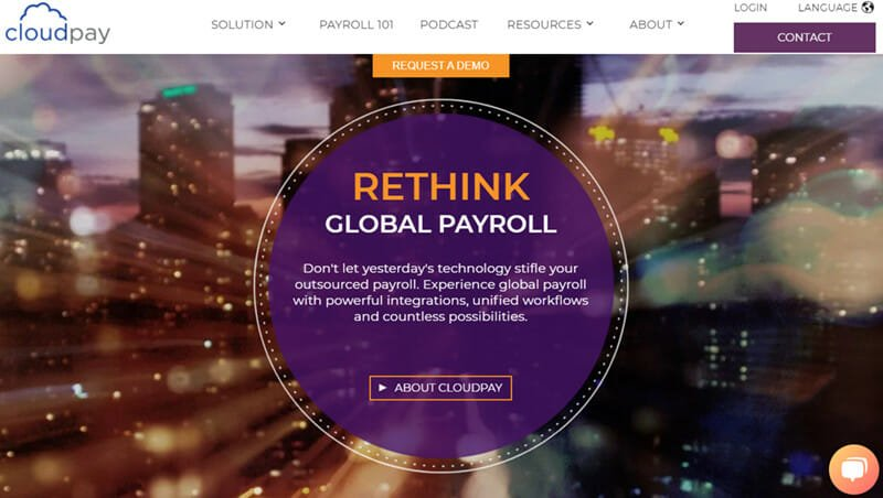 CloudPay is the Best payroll company for global payroll services