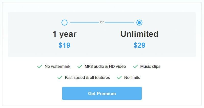DVDVideoSoft Pricing Plan