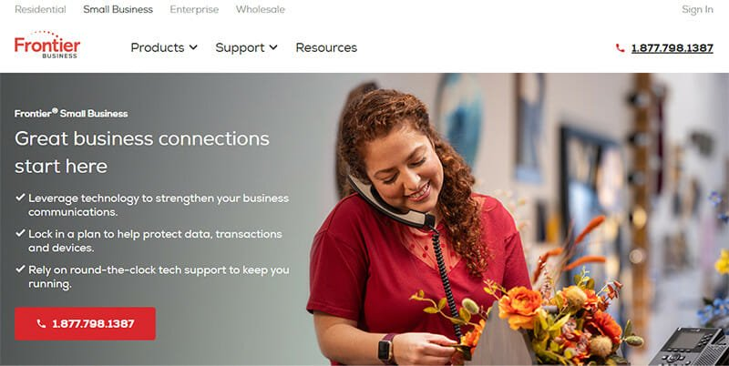 Frontier Communications is the Most Affordable Small Business Internet Service Provider