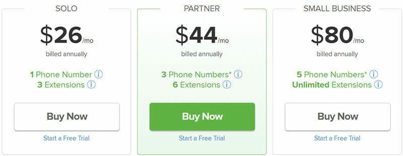 Grasshopper Pricing Plan