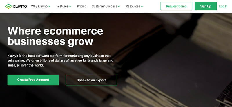 Klaviyo is an Email Marketing Automation Solution for Ecommerce Businesses
