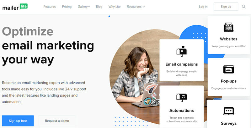 MailerLite is an Email Marketing Software that Comes with an Exclusive HTML Editor
