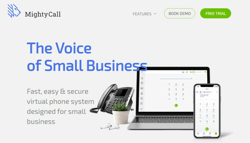 MightyCall is the Best Solution for Startups looking for a High Quality Toll Free Number and VoIP Services