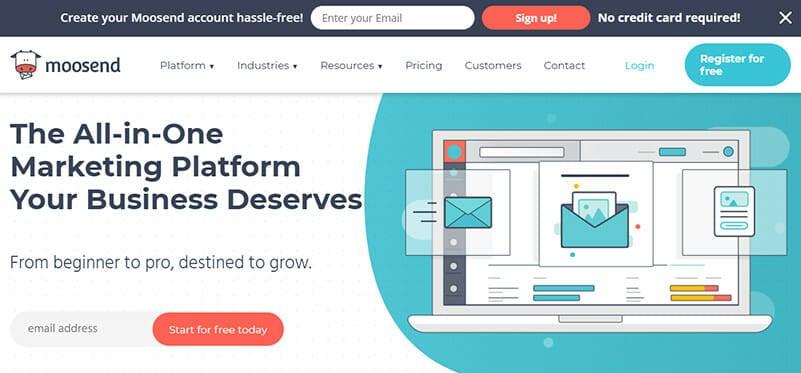 Moosend is the Best AWeber Alternative for Entrepreneurs and Bloggers