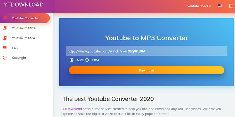 Mp3Convert.io is the Best Youtube MP3 converter without banner ads and pop up pages