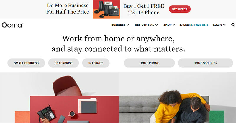Ooma Connect is an Insanely Fast Small Business Internet Service Provider