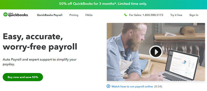 QuickBooks Payroll is the Best Payroll Software with Powerful and Rich Payroll Features