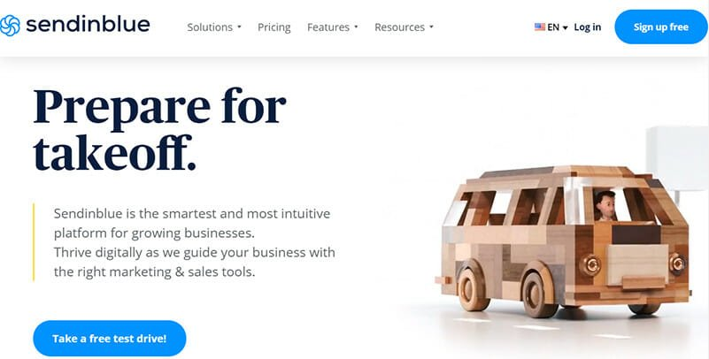 Sendinblue is a Free Email Marketing Software that Provides Users with both Sales and Marketing Toolkit