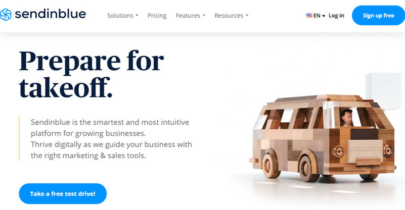 Sendinblue is a Free Marketing Automation Platform with Unlimited Contact Storage