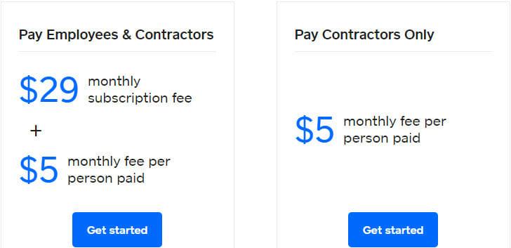 Square Payroll Pricing Plan