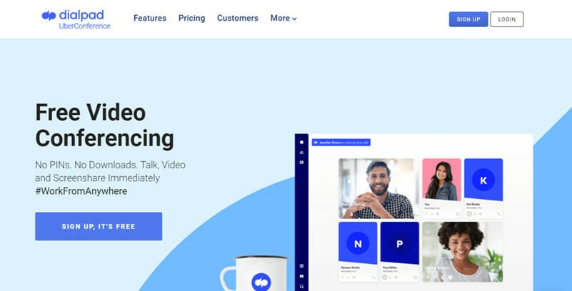 UberConference is the Best Free AI Powered Video and Voice Conferencing Tool for Remote Teams