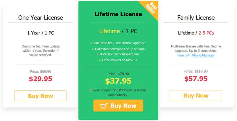 VideoProc Pricing Plan