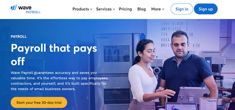 Wave Payroll is the Most Affordable Payroll Software for Small Businesses