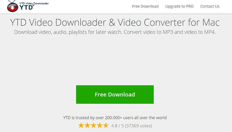 YTD Video Converter is the Best Youtube to MP4 Video Converter and Video Downloader for Mac