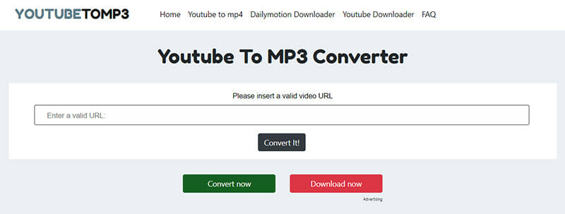YouTubetoMP3 is a Perfect Youtube MP3 converter for fast download and conversion speed