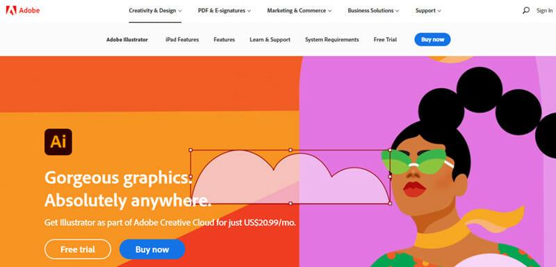Adobe Illustrator is the Best Vector based Graphic Design Software