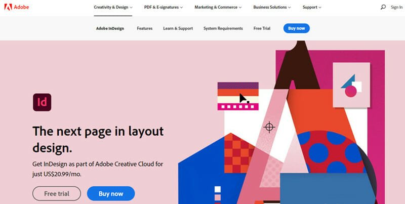 Adobe InDesign is the Best Graphic Design Software for the Publishing Industry