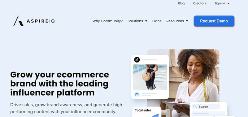 AspireIQ is an AI Powered Influencer Marketing Platform for Building Authentic Influencer Relationships at Scale