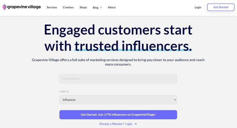 Grapevine Village is the Best IM Platform for Connecting with Top Content Creators to help boost Marketing Initiatives