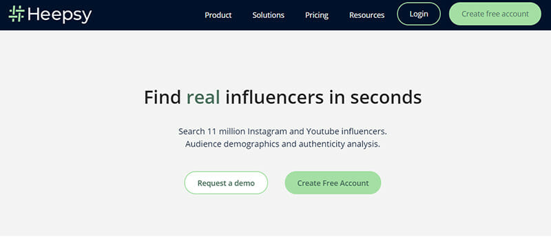 Heepsy is the Best Influencer Marketing Platform for Instagram Marketing Campaigns with a Free Trial