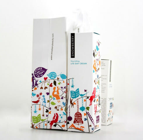 Packaging Graphic Design Sample