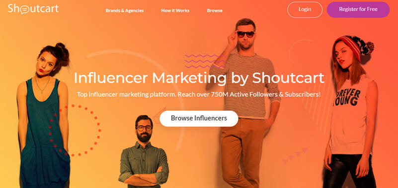 Shoutcart is an Influencer Marketplace Platform for Buying and Selling Instagram Influencer Shoutouts