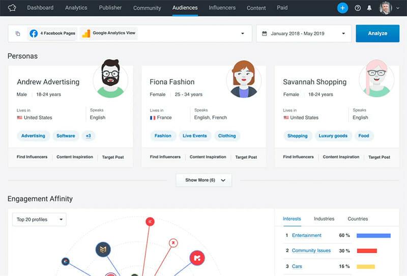 SocialBakers influencer marketing platform