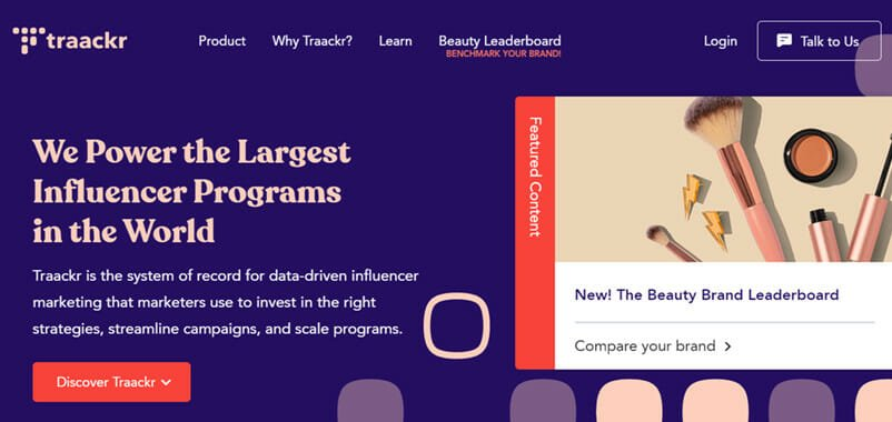 Traackr is the Best Influencer Relationships Management Platform for helping Medium to Large Sized Companies
