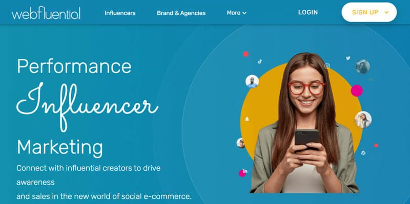Webfluential is the Best Influencer Marketing Platform for Connecting Brands & Agencies with Quality Social Media Stars