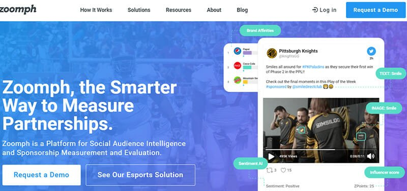 Zoomph is an Influencer Marketing Platform for Powering Richer Analytics and Deeper Engagement