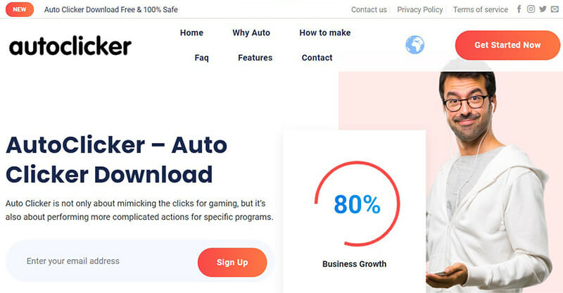 Autoclicker.ai is the Best Free Auto Clicker for Mac and Windows