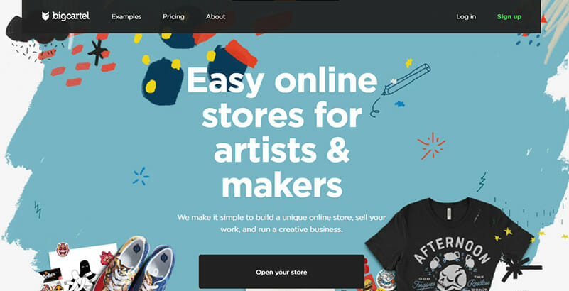 Big Cartel is the Best for Creative, Arts and Design centric Small Businesses
