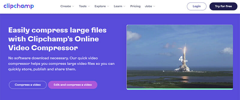 Clipchamp is the Best Video Compressor for Video Creators and Editors