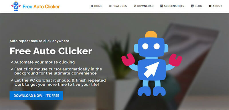 Free Auto Clicker is the Best Free Auto Clicker for Automating Your Mouse Clicks