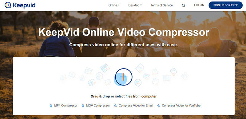 KeepVid is the Best Video Compressor Tool for Compressing Videos for YouTube and Emails