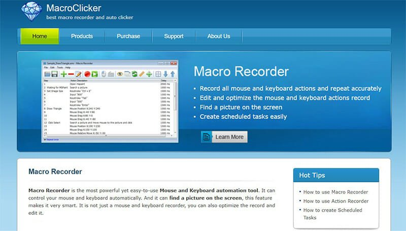 MacroClicker is the Best Auto Clicker and Macro Recorder