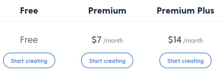 Mozello Pricing Plan
