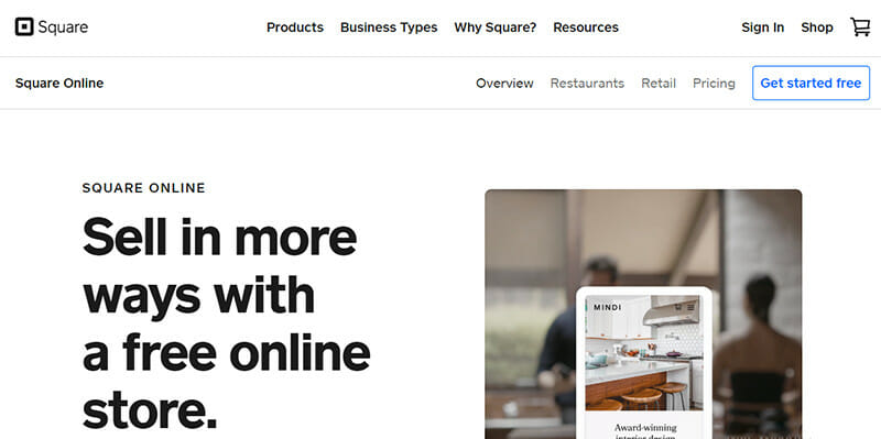 Square Online is the Best Choice for Traditional Stores Looking to Build an Online Presence