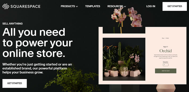 Squarespace is the Best Beginner Friendly Option for Contemporary and Minimalist Design Inspired Online Stores