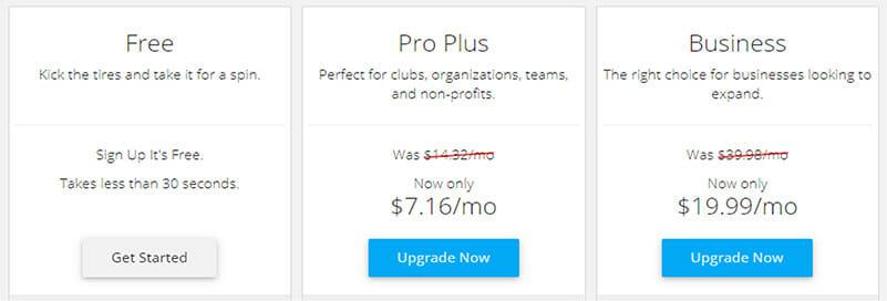 Webstarts Pricing Plan