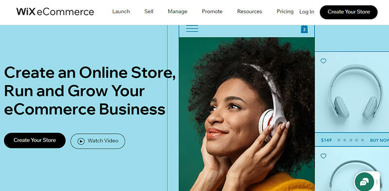 Wix is the Best Free A.I Powered Ecommerce Builder with Comprehensive Marketing Tools