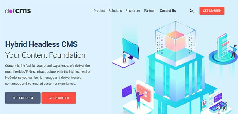 dotCMS is the Best Hybrid CMS Software for Deploying Content Enabled Applications