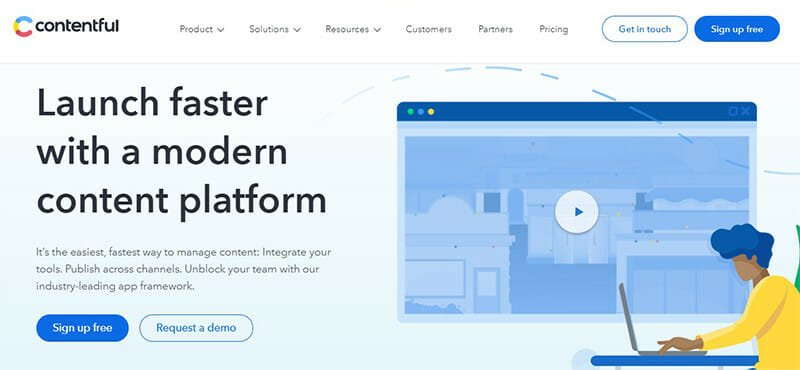 Contentful is a CMS Software for Centralized Content Organization and Cross Channel Digital Experience