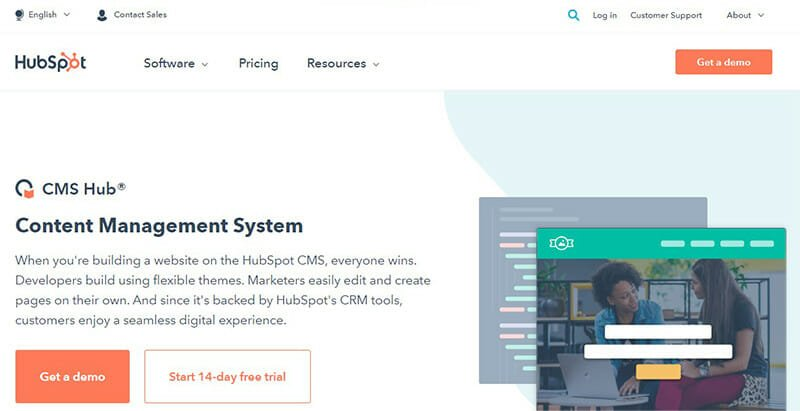 HubSpot CMS is the Best CMS software for Marketers and Businesses Looking to Connect with Customers