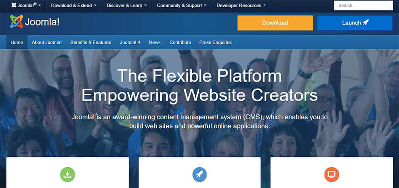 Joomla is the Best CMS Software for Building and Publishing Content for Large Organizations