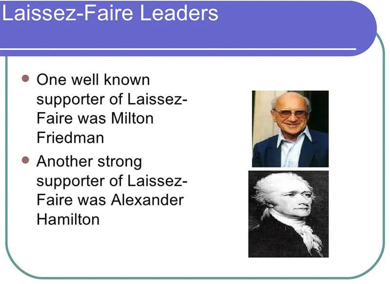 Laissez Faire Leaders