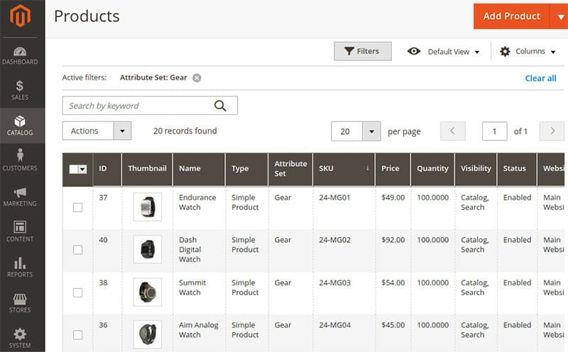 Magento Product Configurations